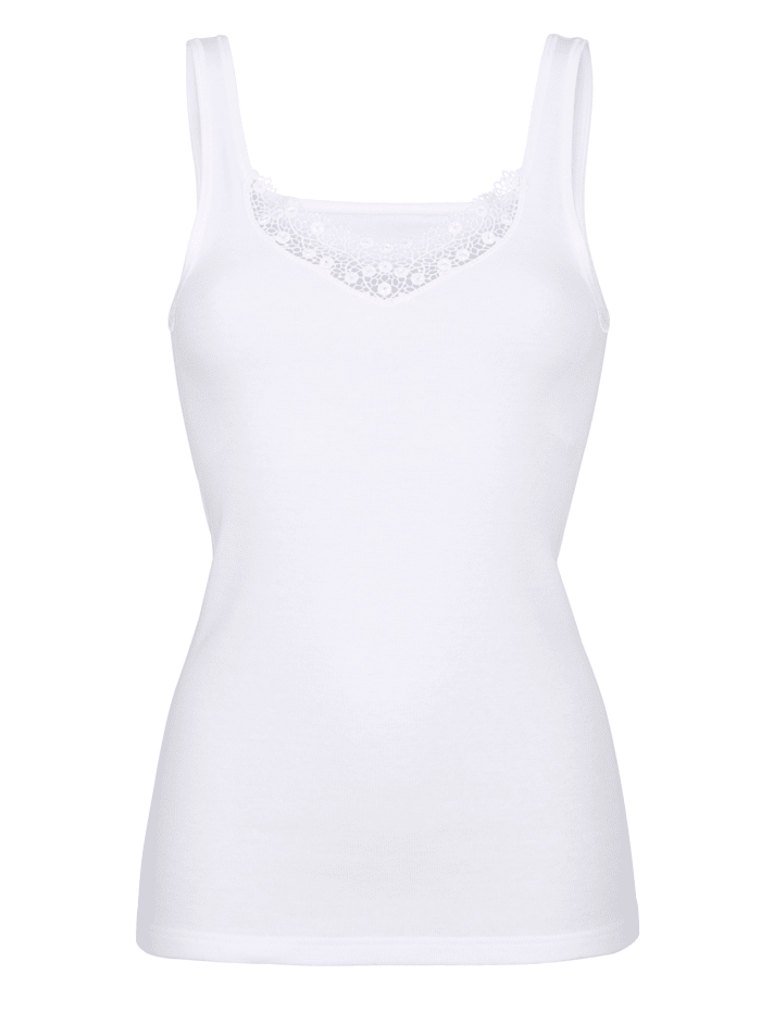 Vest top made from pure cotton
