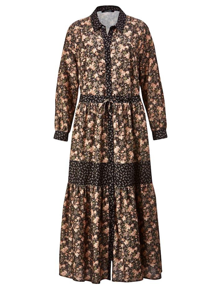 Šaty s gombíkovou légou
