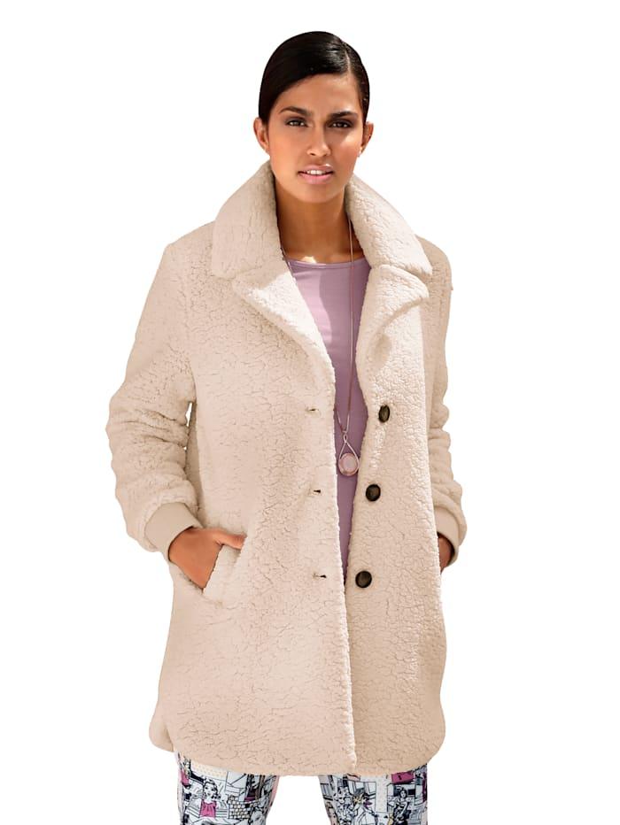 Kožešinový kabát v hebce měkké kvalitě