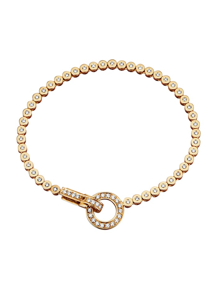 Diemer Diamant Armband mit Brillanten, Weiß