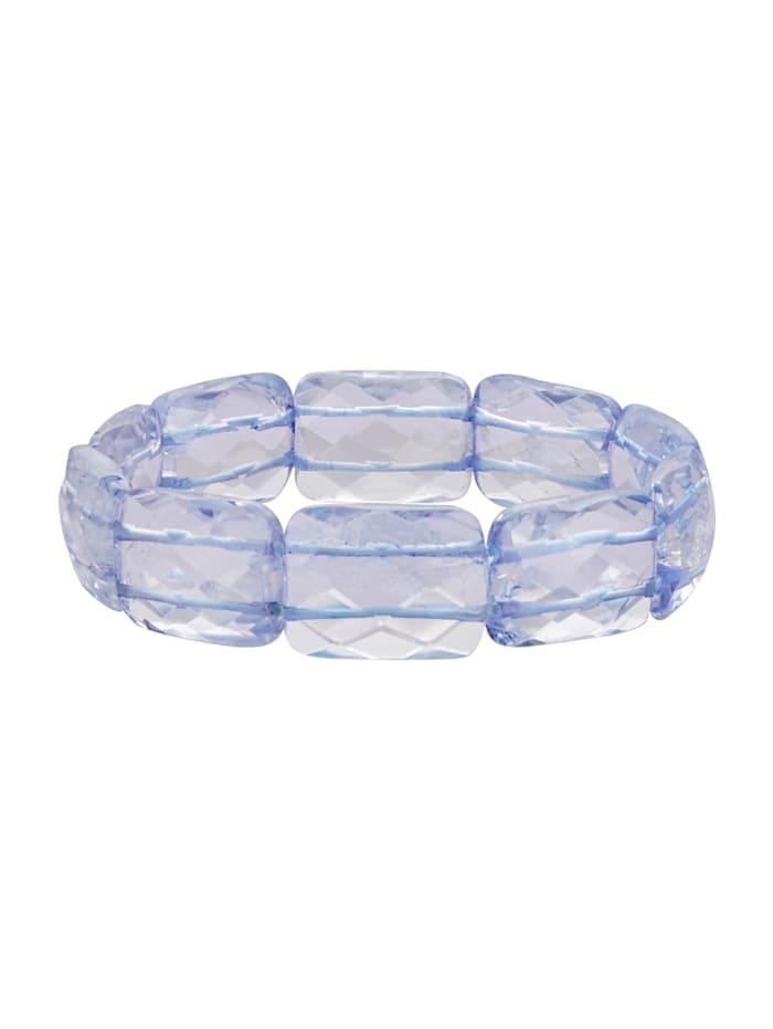 Armband mit blauen Quarzen