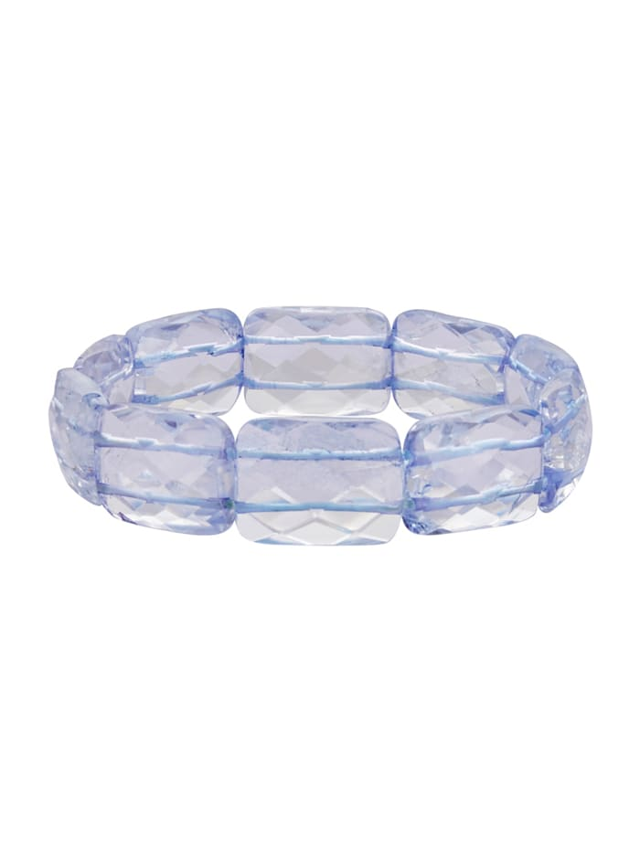 Armband mit Quarz, Blau