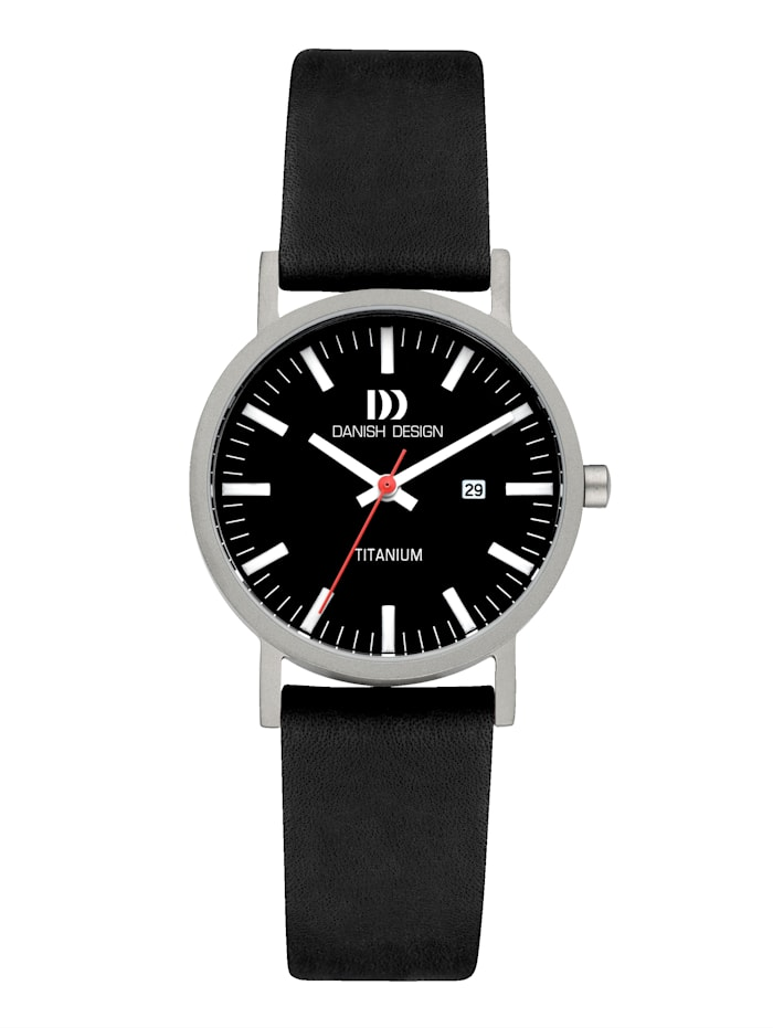 Danish Design Damenuhr 3326631, Schwarz