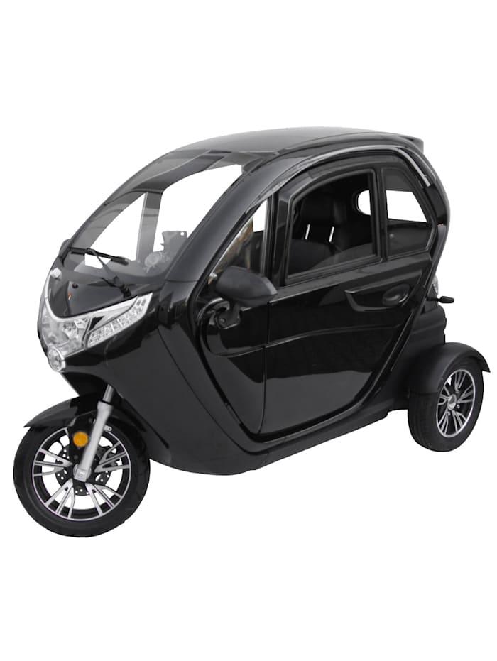 """ECABINO DIDI THURAU EDITION Dreirad-Elektro-Kabinenroller """"Lizzy"""" mit Vorort-Einweisung - 45 km/h, schwarz"""