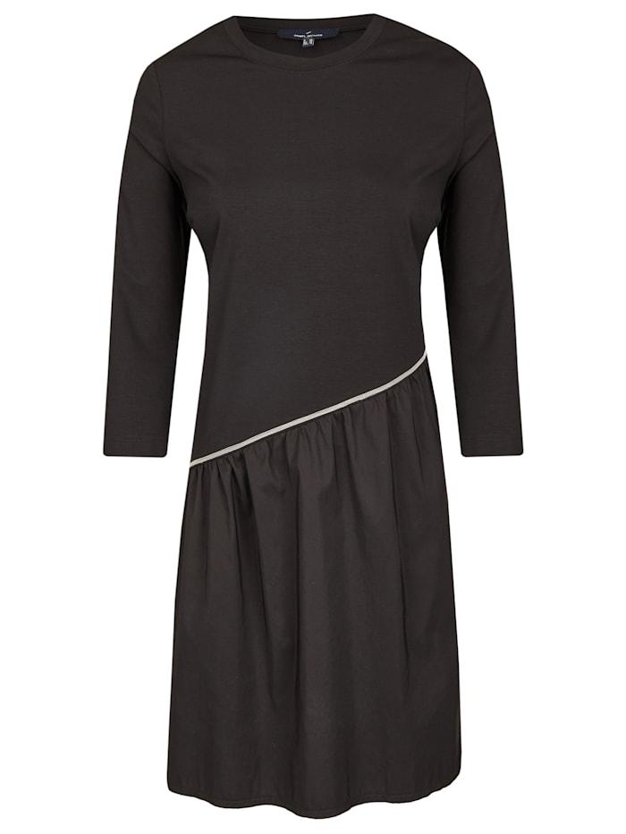 Daniel Hechter Modisch asymmetrisches Kleid, black