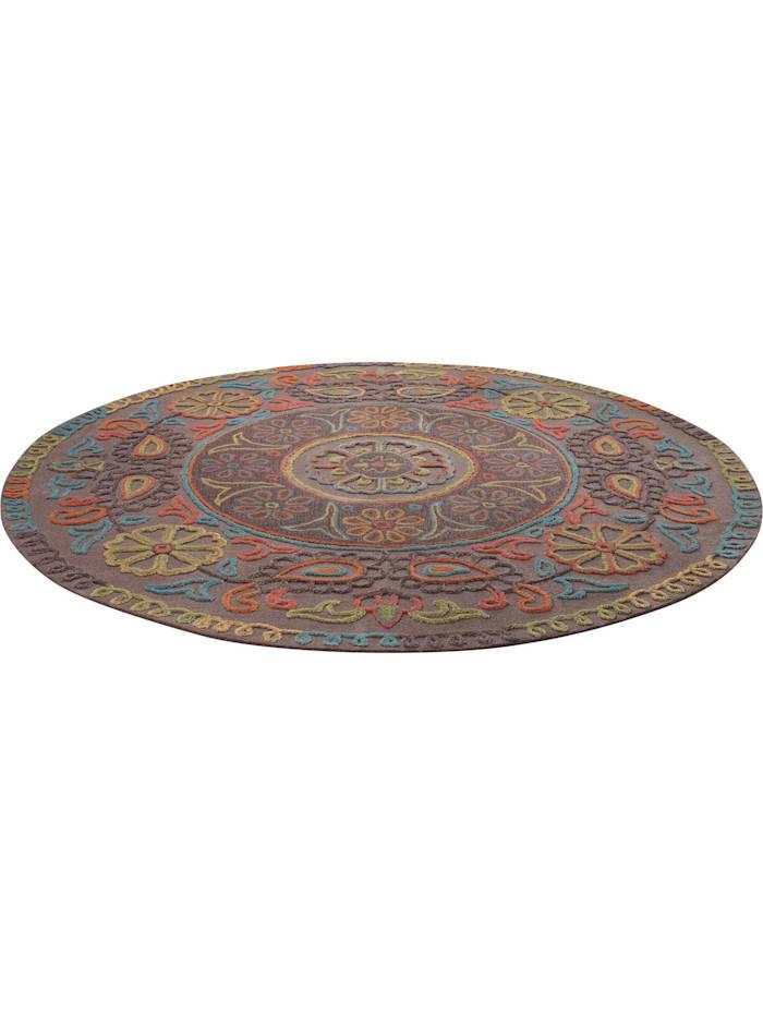 Esprit Esprit Teppich Mandala, taupe