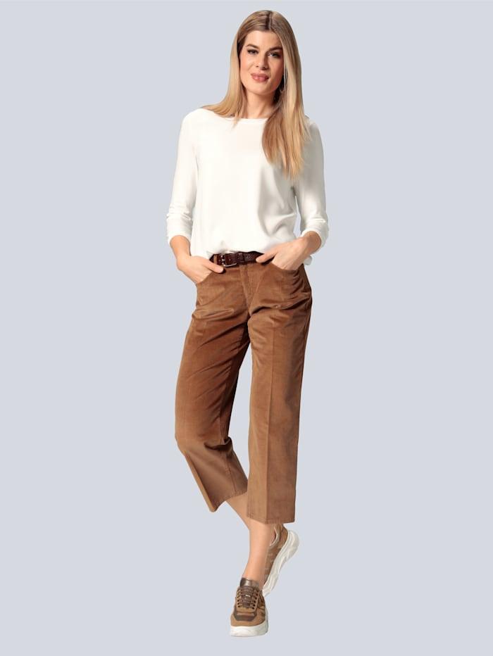 Hose aus softem Breitcord