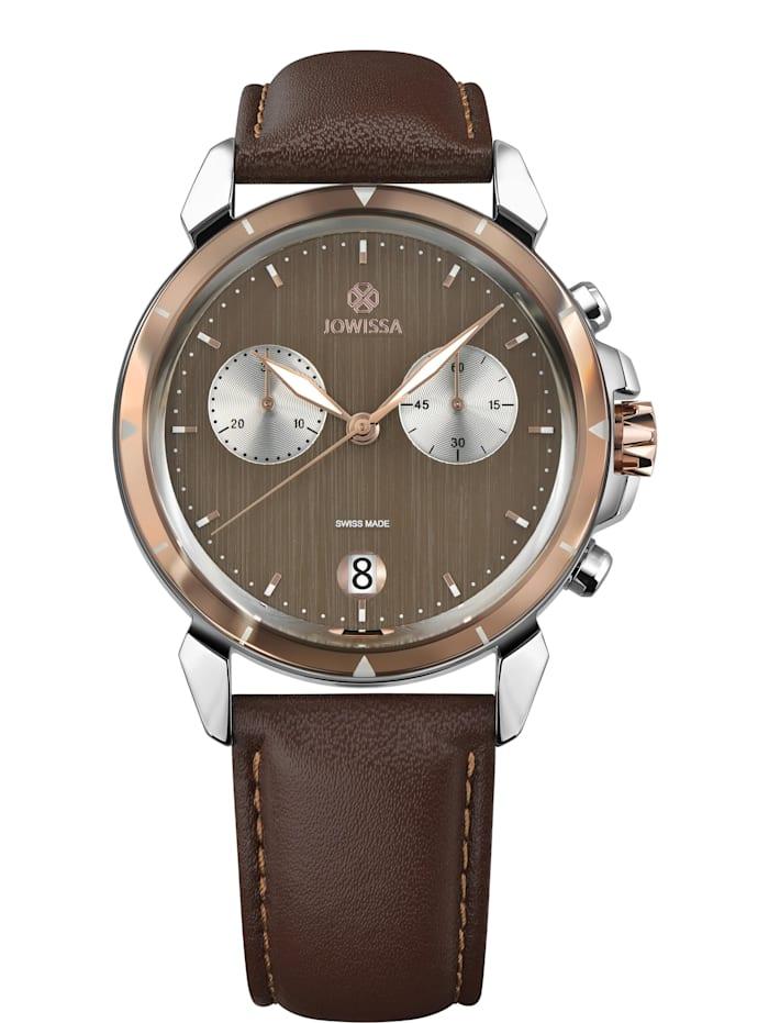 Jowissa Quarzuhr LeWy 6 Swiss Men's Watch, braun