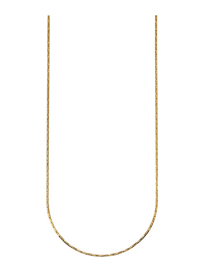 Ankerkette in Silber 925, Gelbgoldfarben