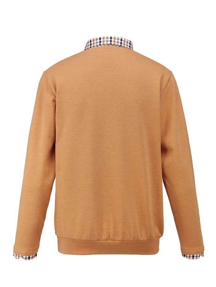 Sweatshirt mit weich angerauter Innenseite