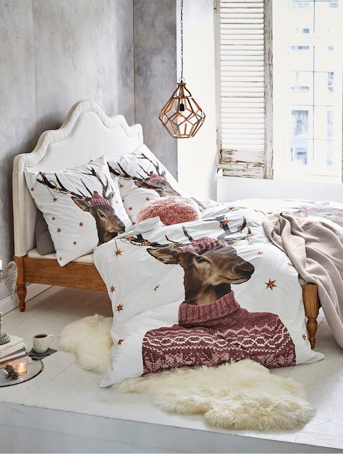 MARAVILLA Bett, natur/weiß
