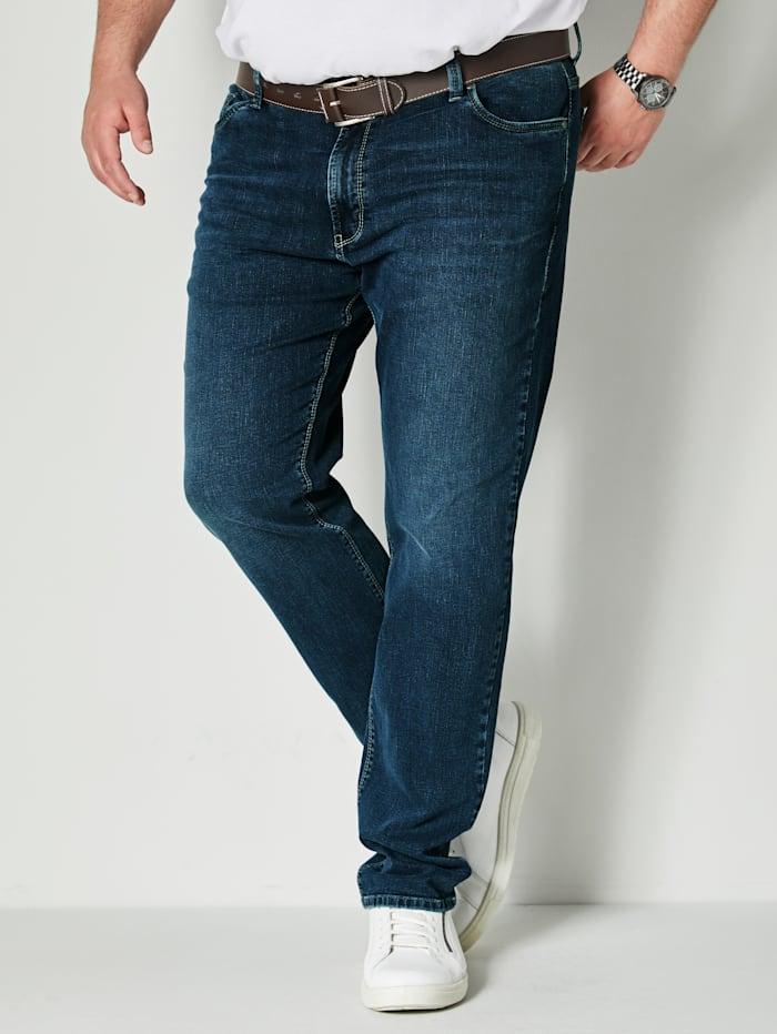Pioneer Jeans met stretch, Blue stone
