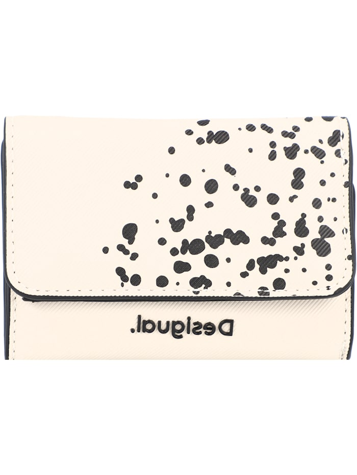 Desigual Wild Splatt Diana Geldbörse 12 cm, blanco
