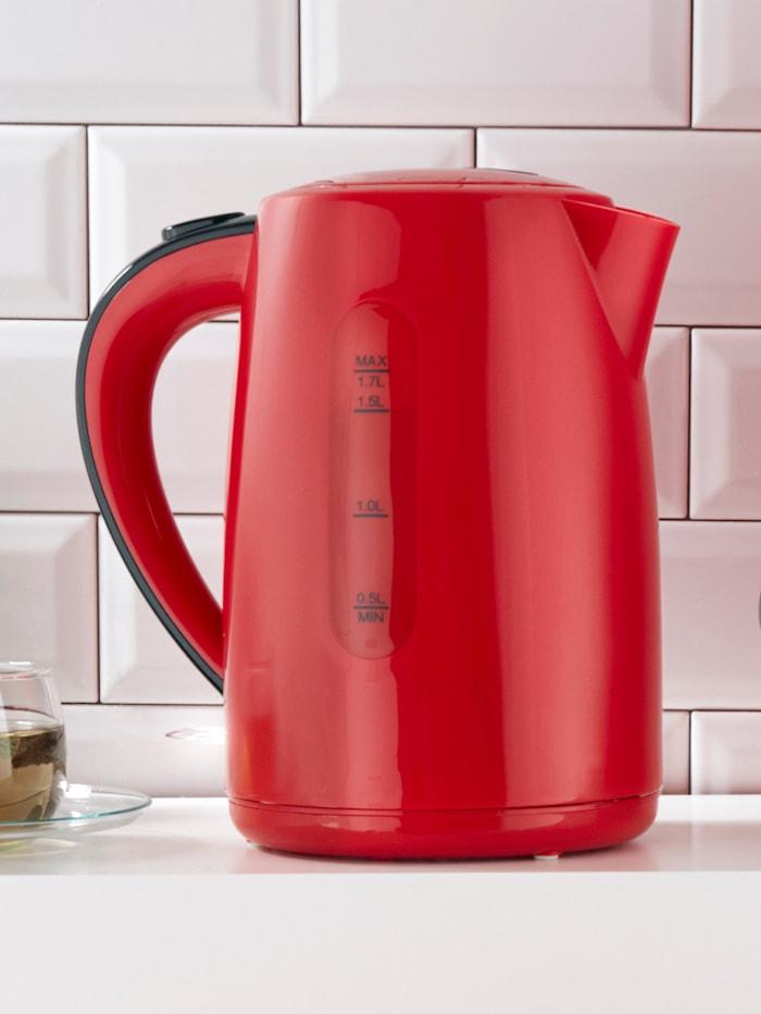 Wasserkocher 20133, 1,7 Liter, rot