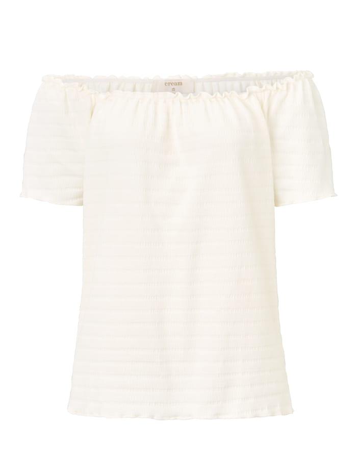 Cream T-Shirt, Off-white