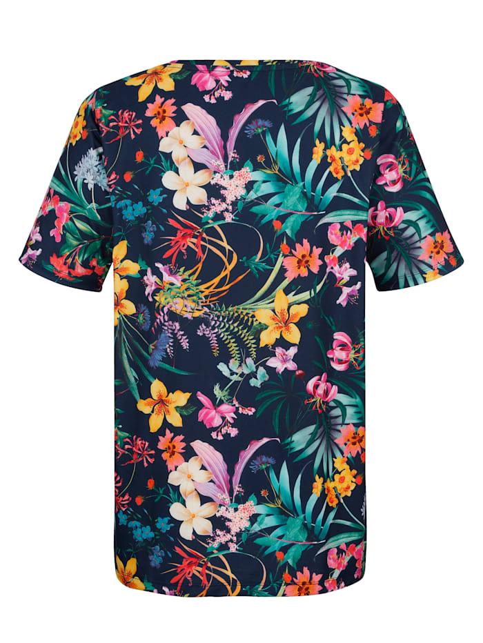 Shirt mit floralem Druckdesign