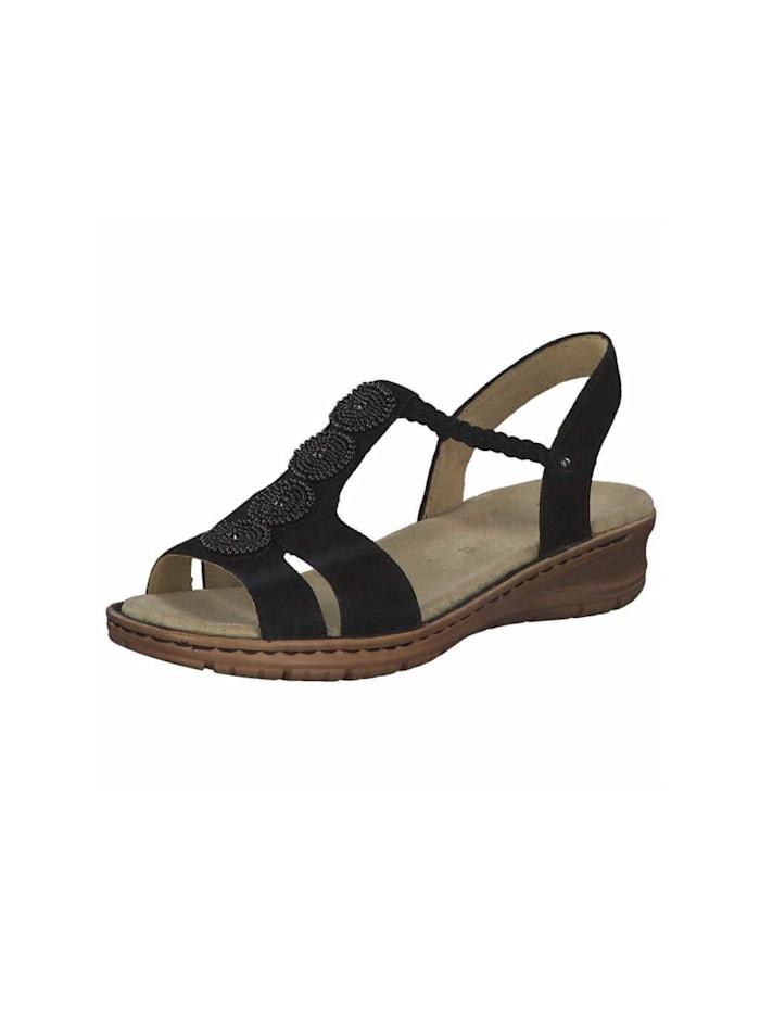 Ara Sandalen/Sandaletten, schwarz