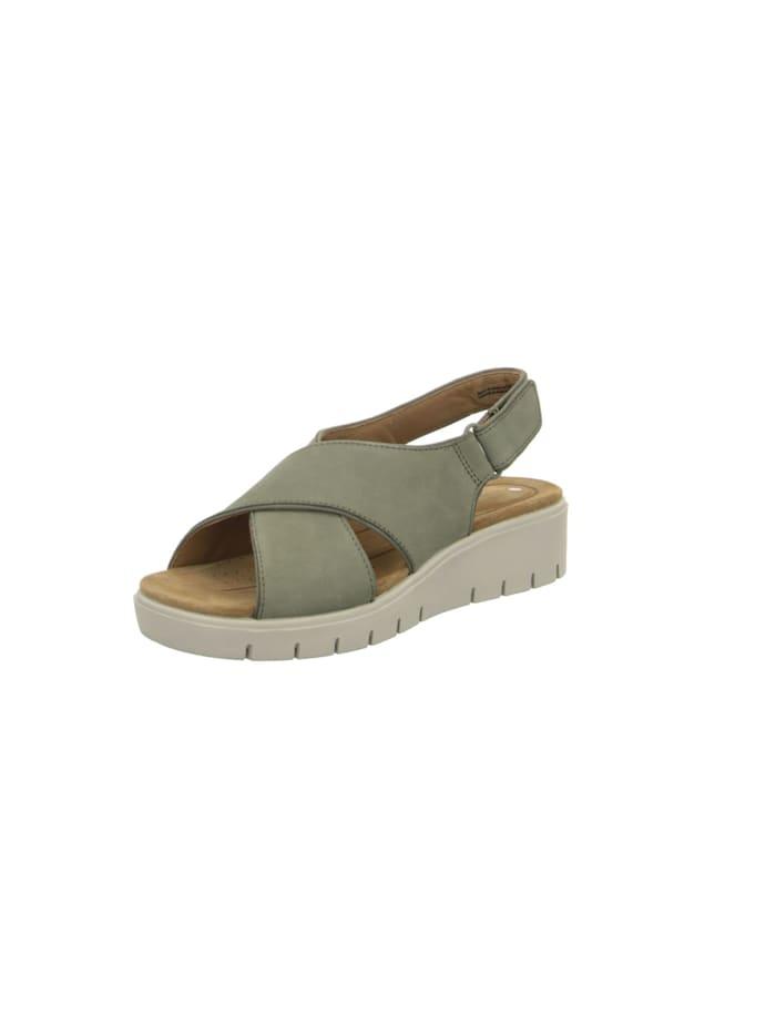 Clarks Sandalen/Sandaletten, kahki