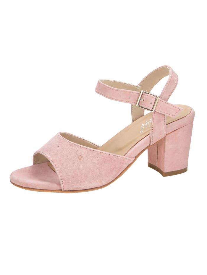 KLiNGEL Sandale in modischer Optik, Rosé