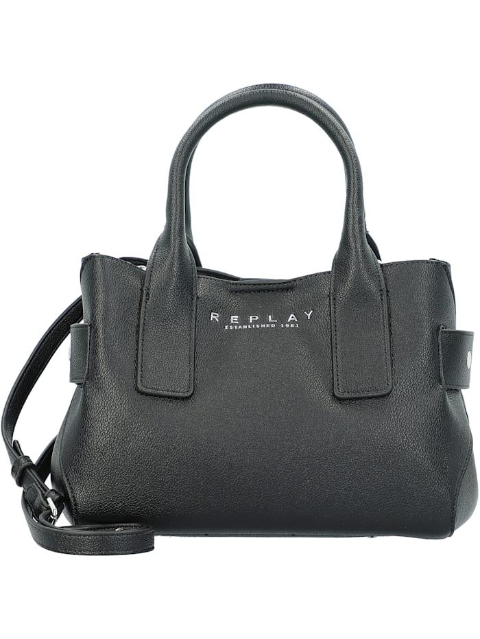 REPLAY Handtasche 30 cm, black