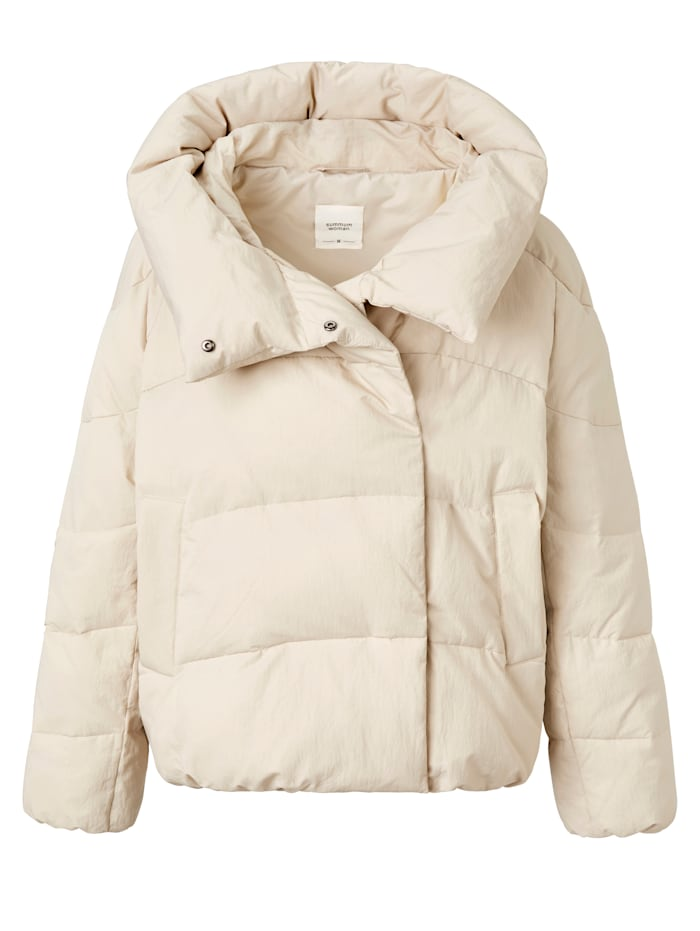 summum Puffer Jacket, Weiß
