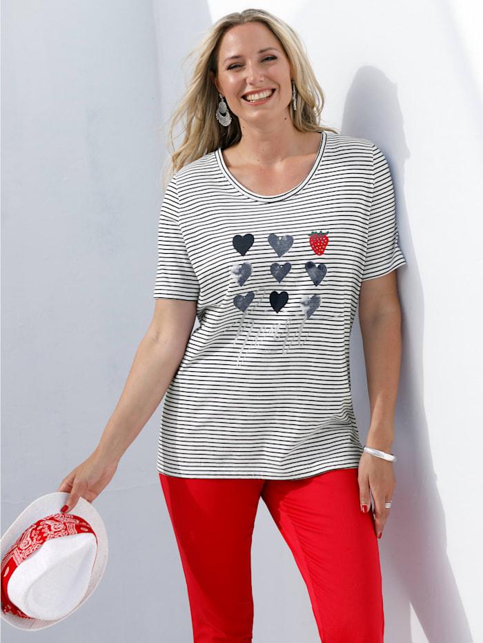 Shirt mit sommerlichem Druckmotiv