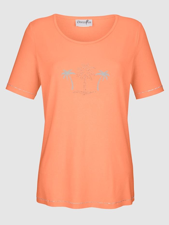 Shirt mit Palmen