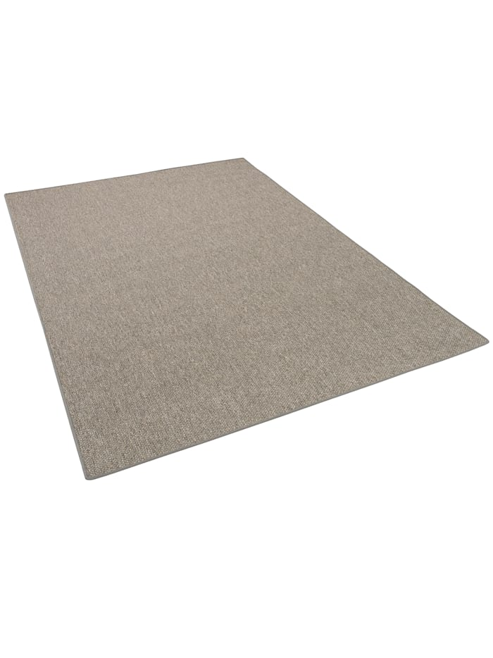 Snapstyle Natur Flachgewebe Teppich Bentzon, Grau