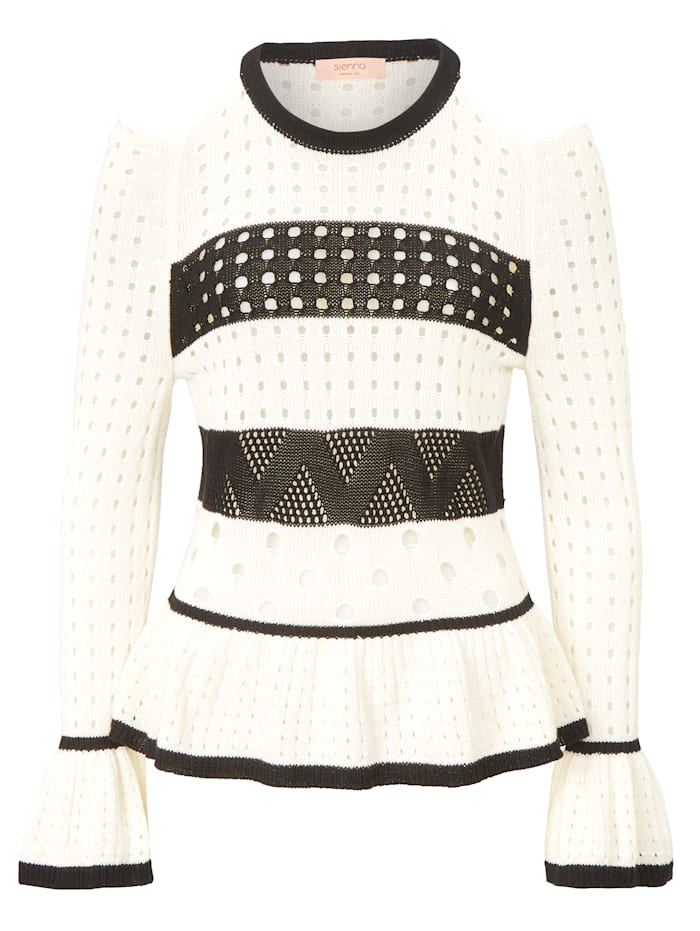SIENNA Pullover, Weiß