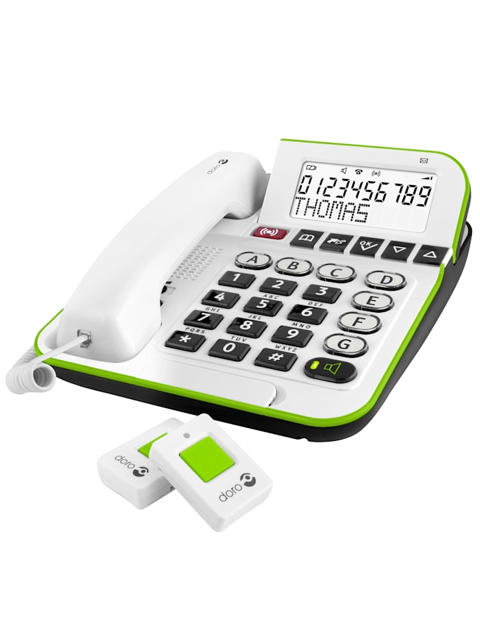 Doro Secure 350 mit Alarm-Anhänger und extra großen Tasten