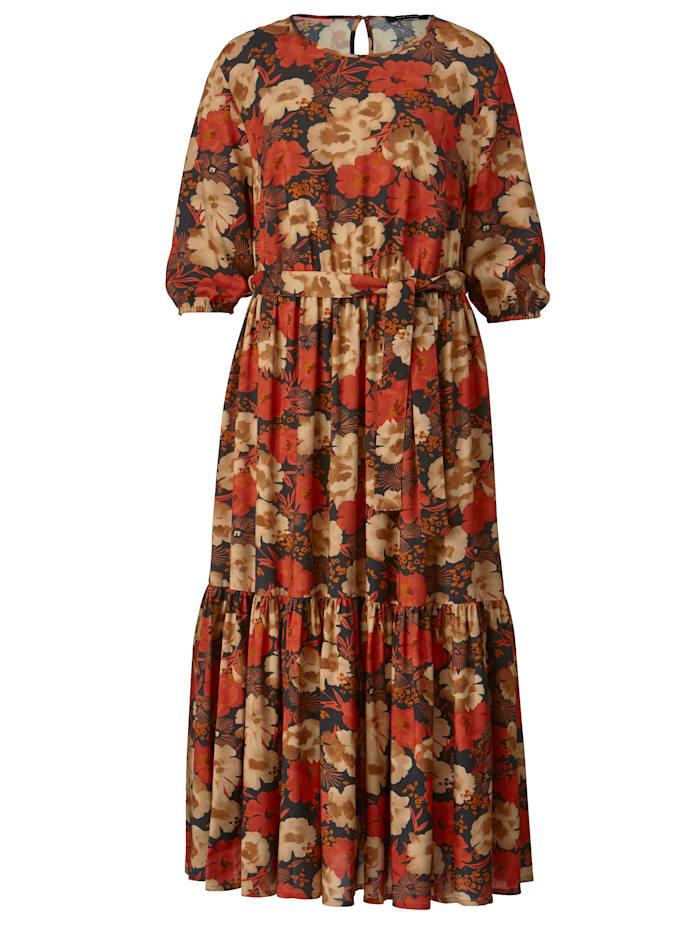 Maxi-jurk van zuivere viscose