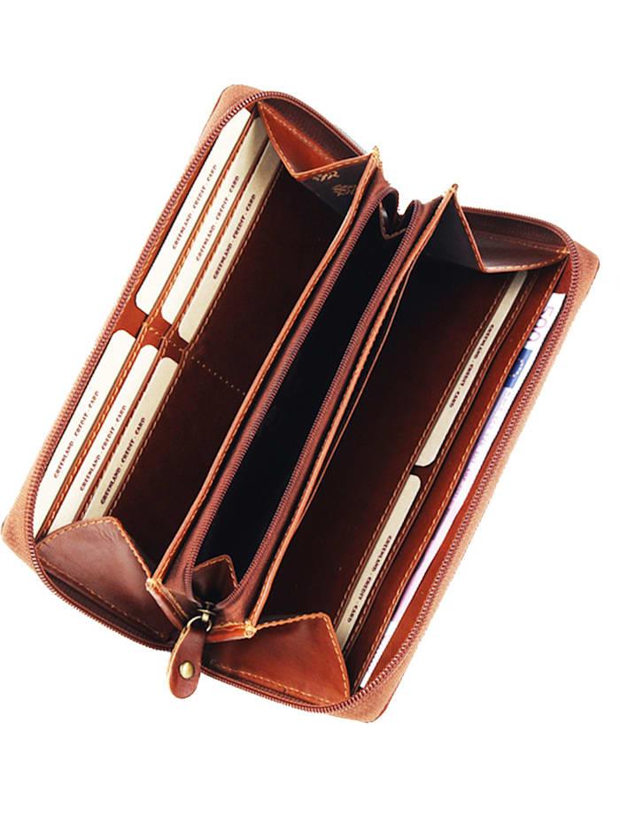 Rubin Geldbörse II Leder 19 cm