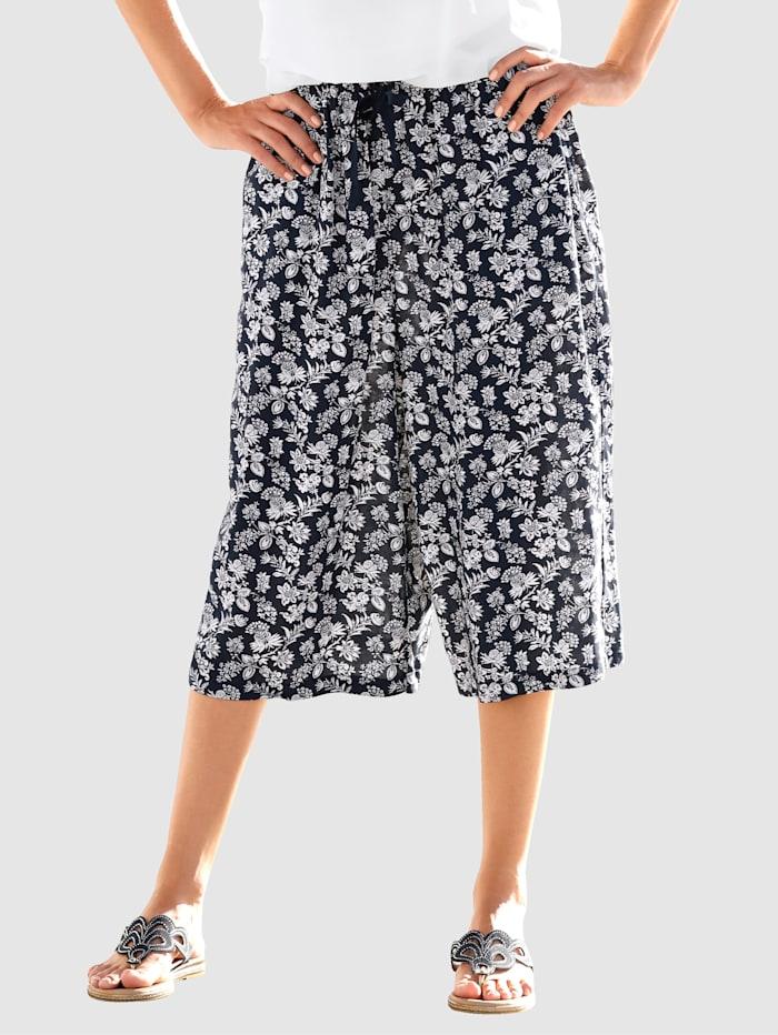 Dress In Culotte v pohodlnom strihu, Námornícka