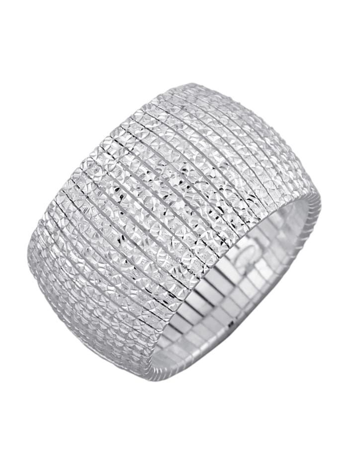 AMY VERMONT Cleopatra-Ring, Silberfarben