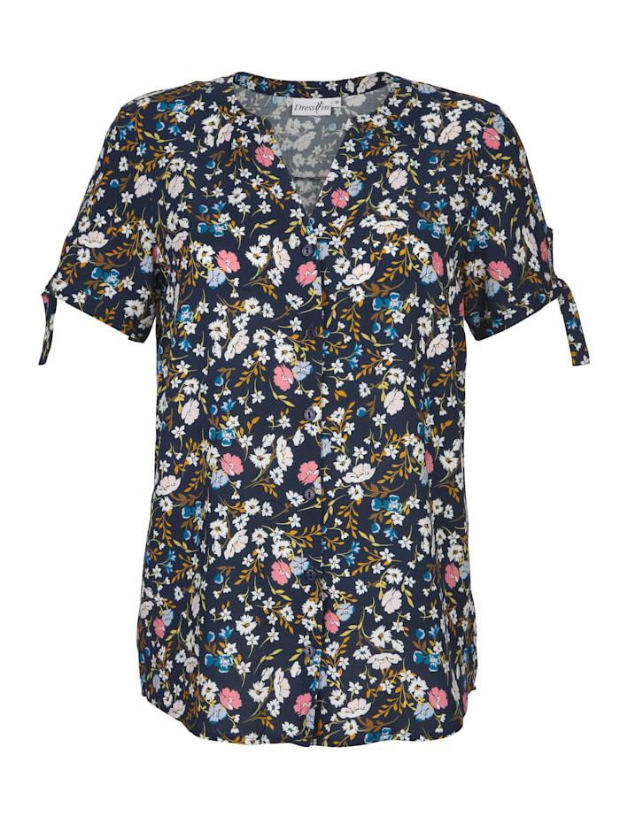 Bluse mit schönem Blumenprint