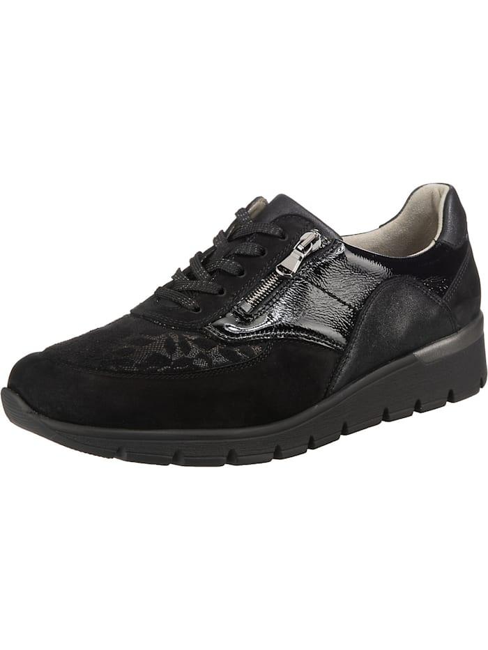 Waldläufer K-ramona-soft Sneakers Low, schwarz