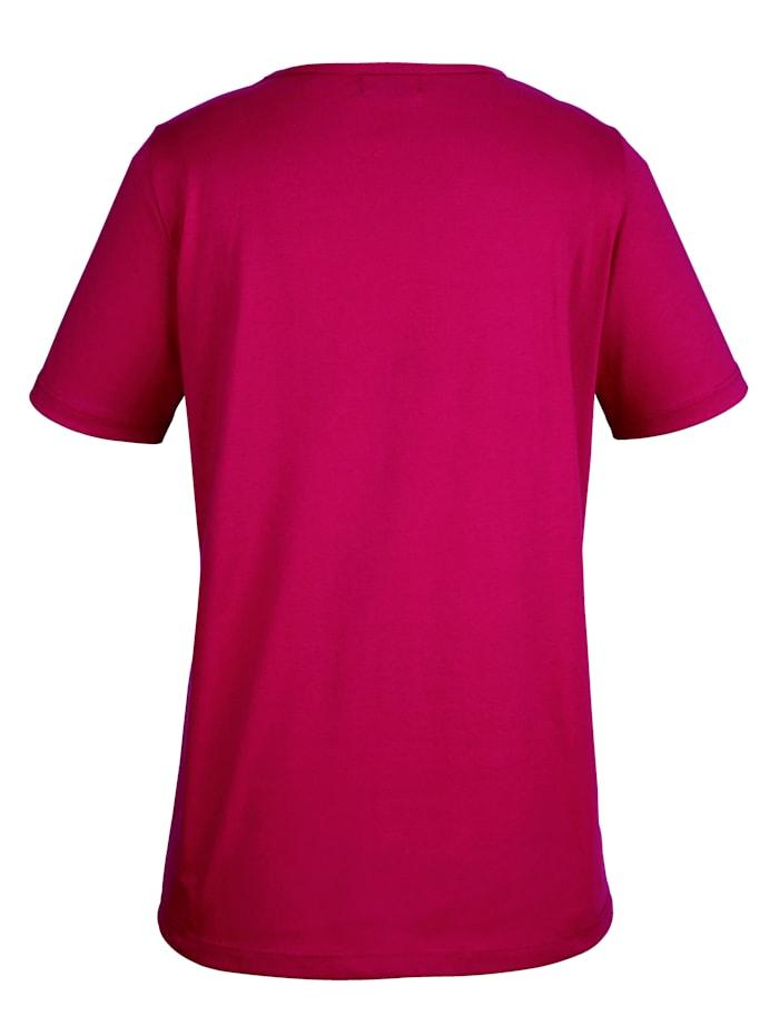 Shirt in figurschmeichelnder Longform