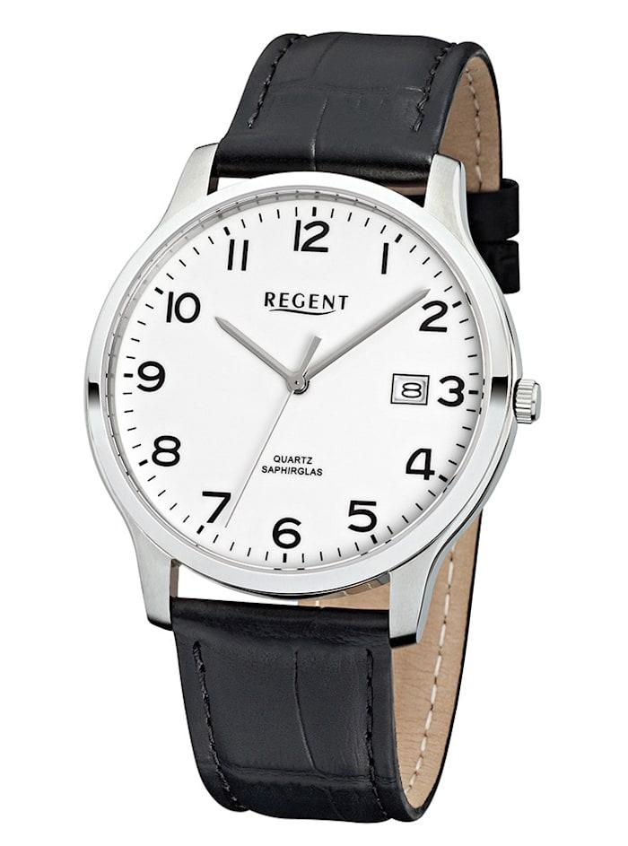 Regent Herrenuhr 11110662, Schwarz
