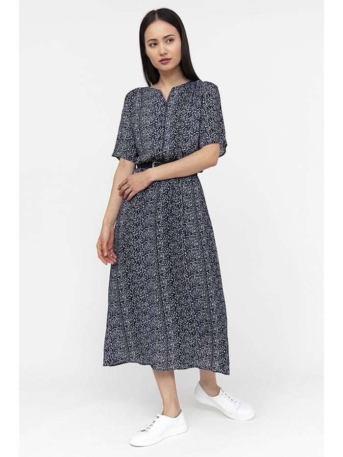 Finn Flare Sommerkleid mit romantischem Alloverdruck, cosmic blue
