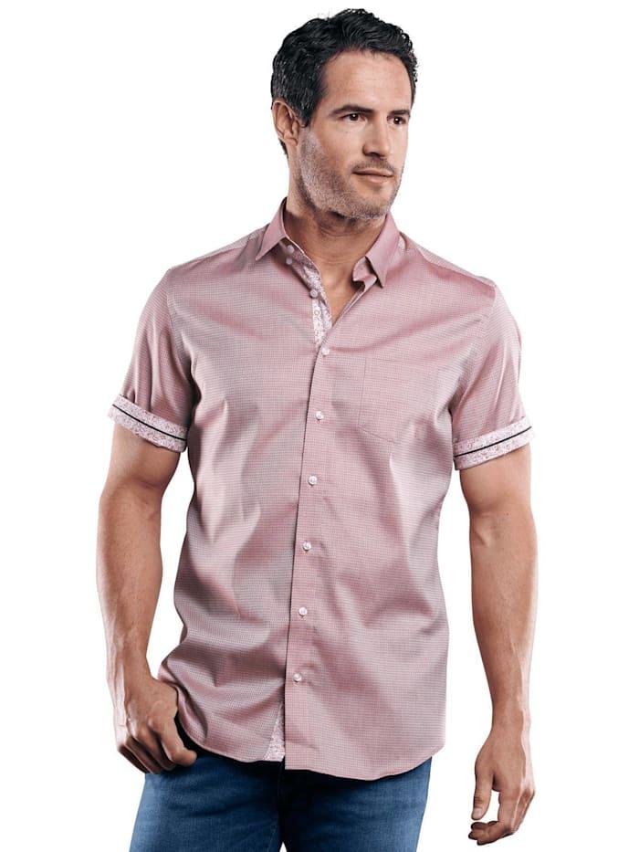 Engbers 100% bügelfreies Hemd, Weinrot