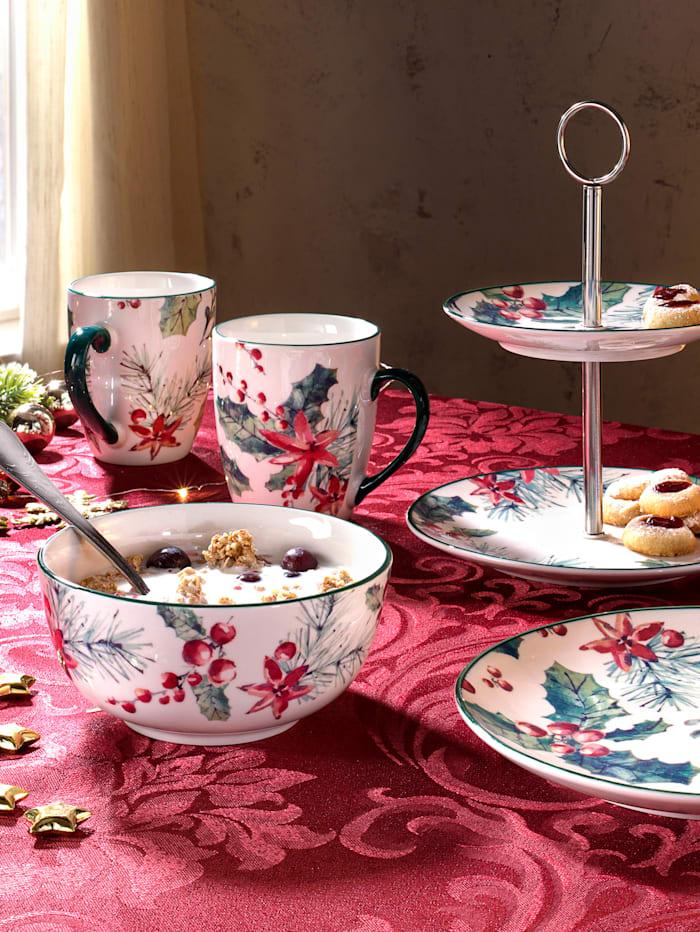 Ritzenhof & Breker Set van 2 koffiemokken Ilex, Multicolor