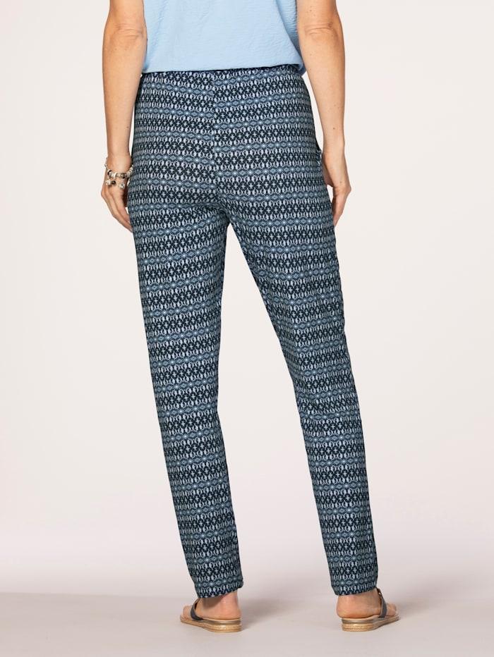 Pantalon à motif graphique