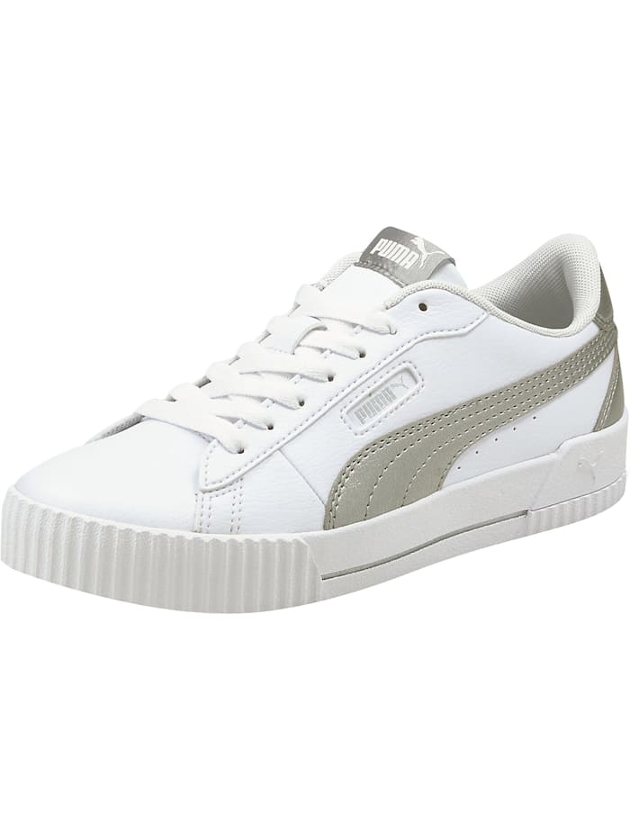 Puma Carina Crew Metallic Sneakers Low, weiß-kombi