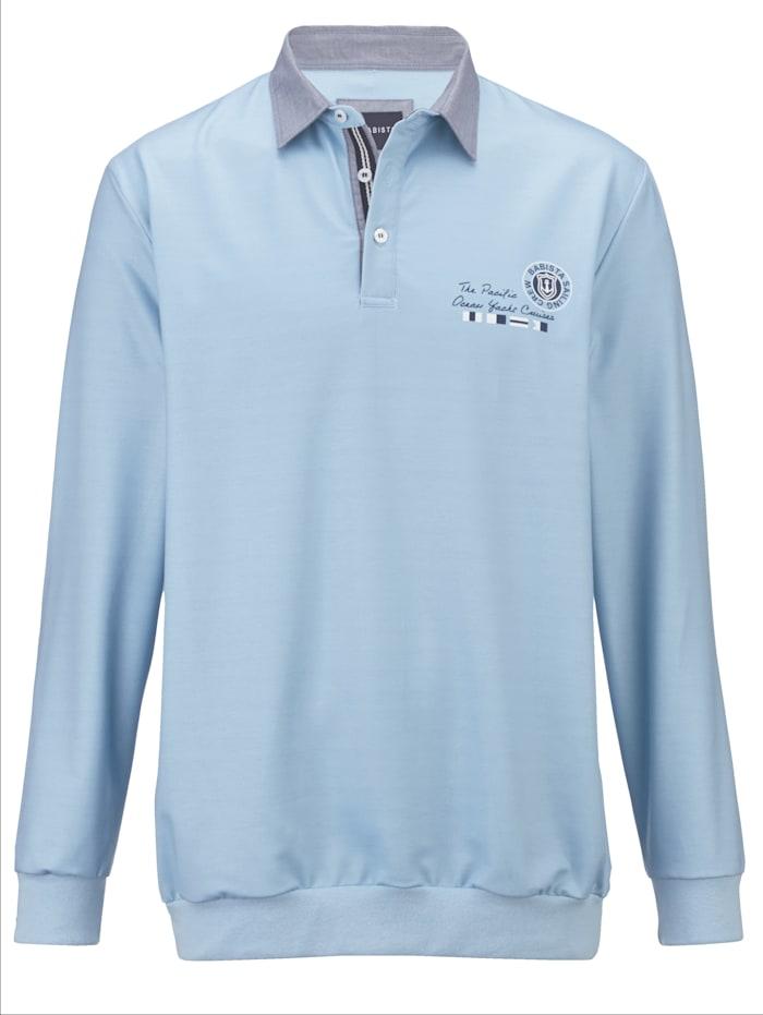 BABISTA Sweatshirt mit maritimem Druck, Hellblau