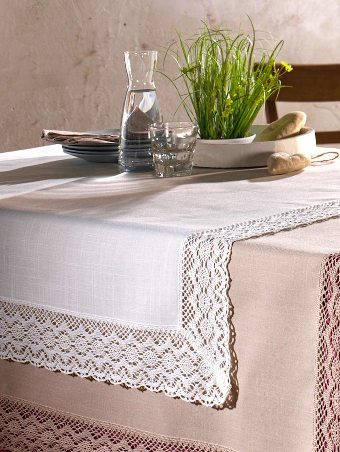 Webschatz Tischwäsche 'Janine', wollweiß