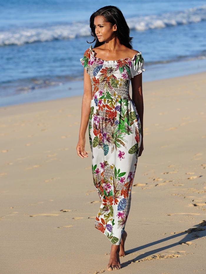 Strandkleid im Carmenstil