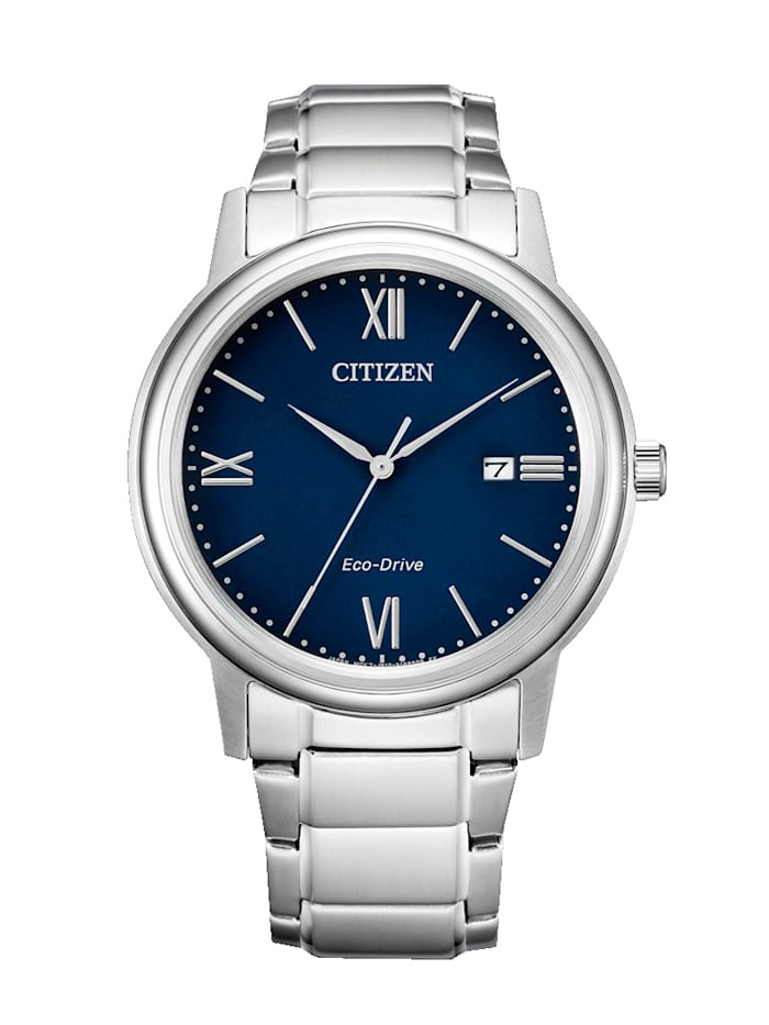 Citizen Herrenuhr Eco-Drive, Silberfarben