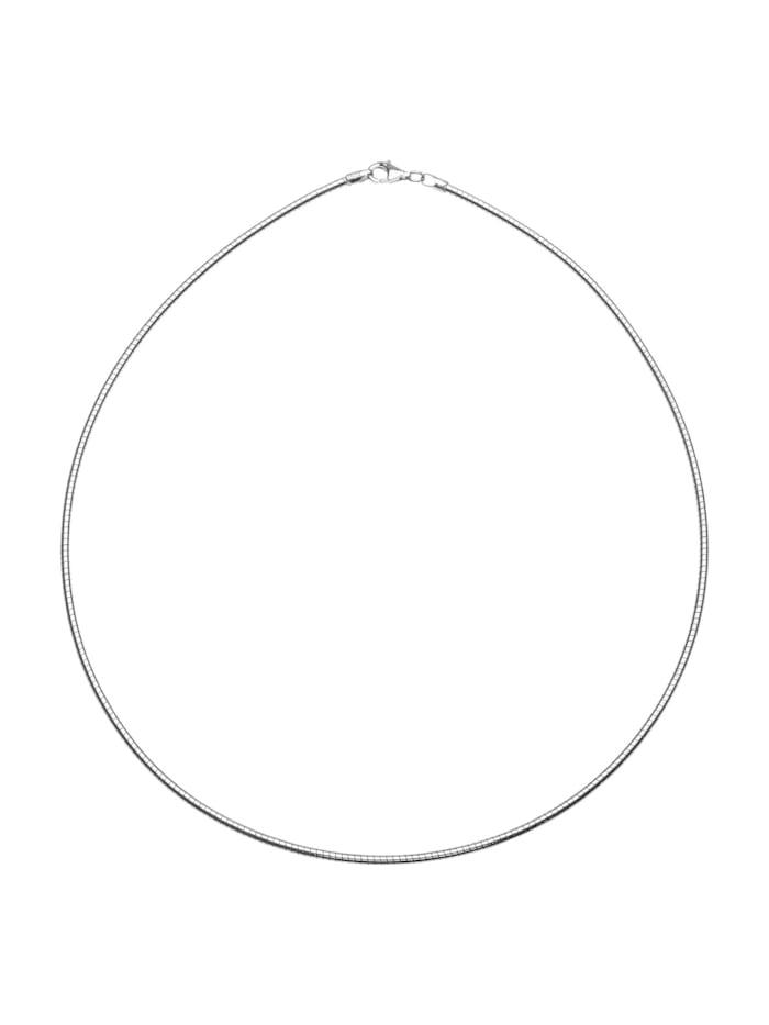 OSTSEE-SCHMUCK Halsreif - Omega 2,2 mm - Silber 925/000 -, silber