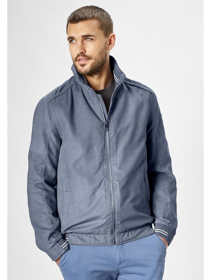 Redpoint Micro Velours Funktionsjacke Tim, steel blue