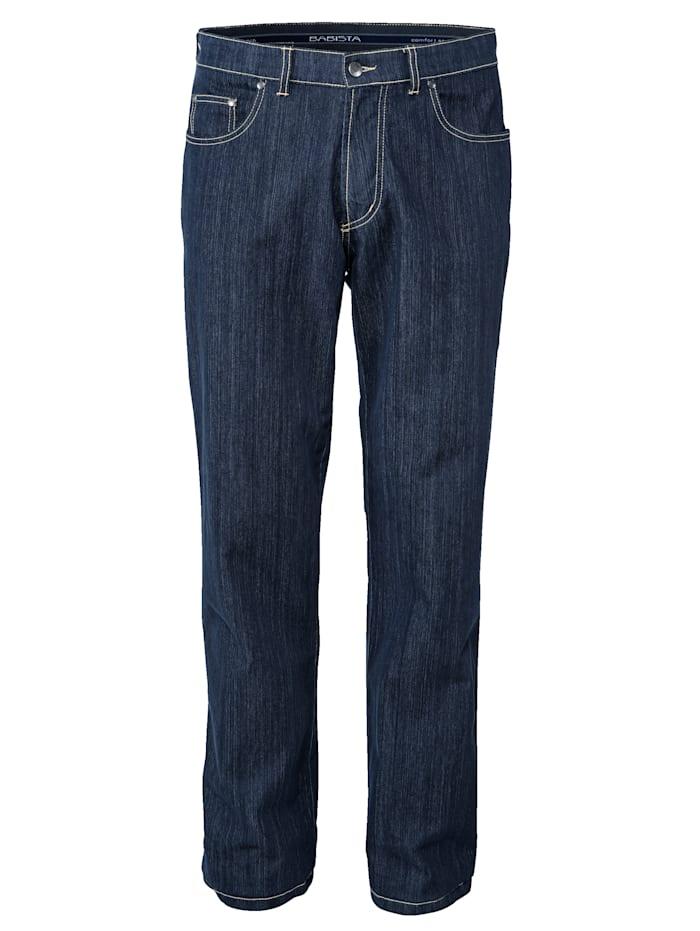 BABISTA Jeans i lettstelt materiale, Mørkeblå